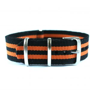 svart-oranget natoband
